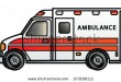 stock-photo-illustration-of-a-cartoon-ambulance-raster-103208111